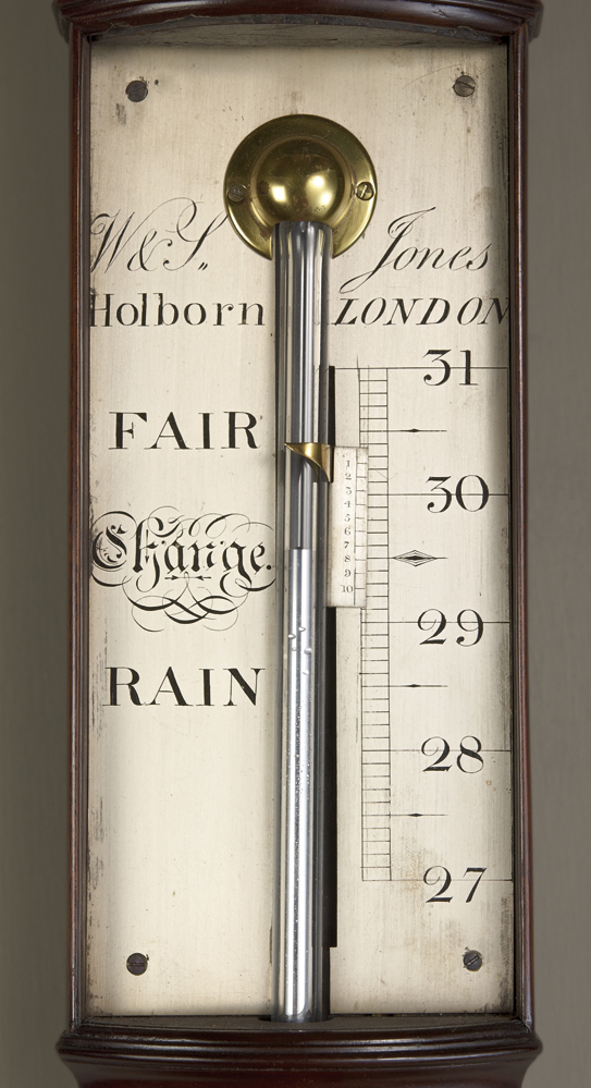 Eighteenth Century Bow Front Barometer By Jones