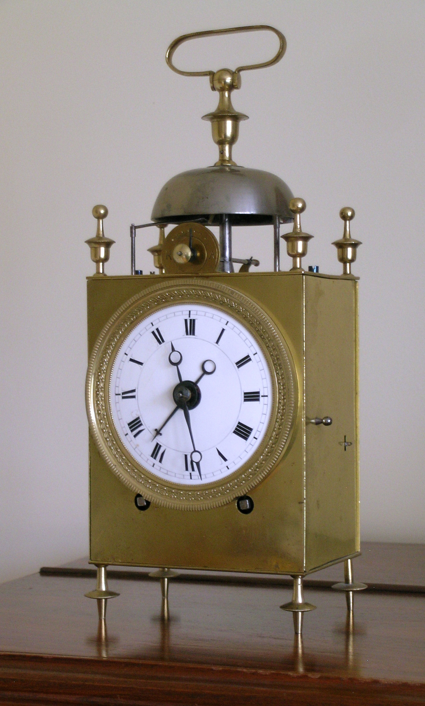 French Travelling Clock So Called Capucine